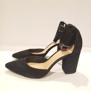 Schutz black heel shoes size 10us